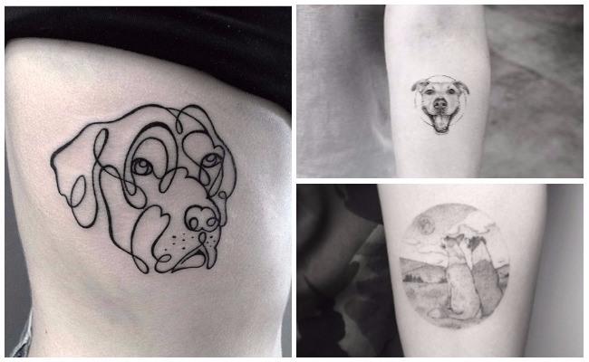 Tatuajes de perros cocker