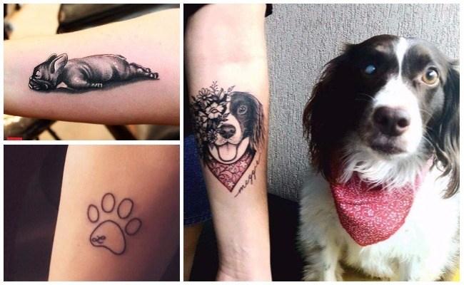 Tatuajes de perros golden