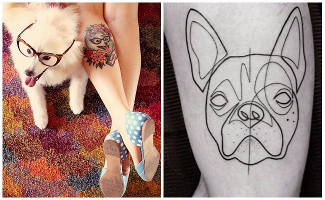 Tatuajes de perros labradores