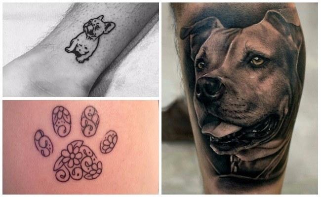 Tatuajes de perros lobos