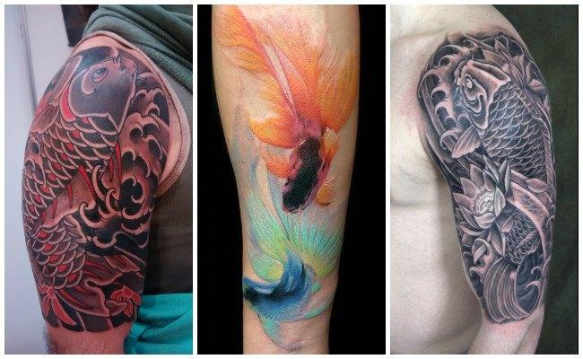 Tatuajes de pez dorado