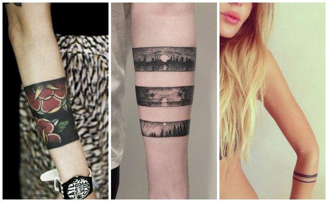 Tatuajes de pulseras mayas