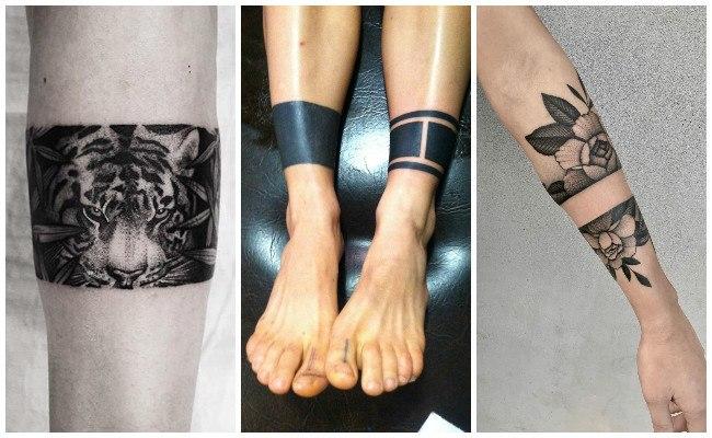 Tatuajes de pulseras para hombre