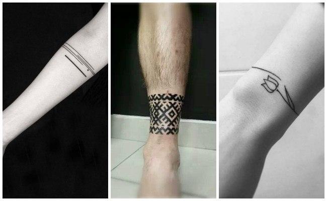 Tatuajes de pulseras para mujeres