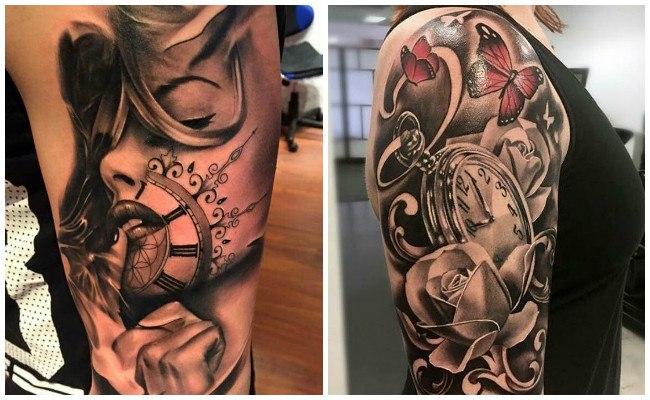 Tatuajes de relojes y significado