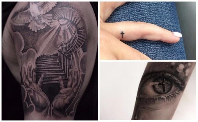 Tatuajes de rosarios en el pie