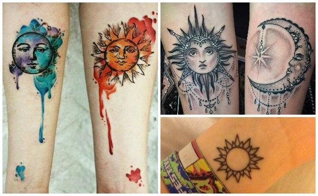Tatuajes de sol para hombres
