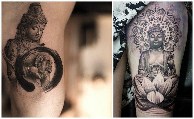 Tatuajes de templos budistas