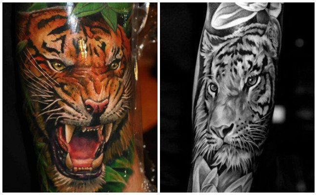 Tatuajes de tigres significado