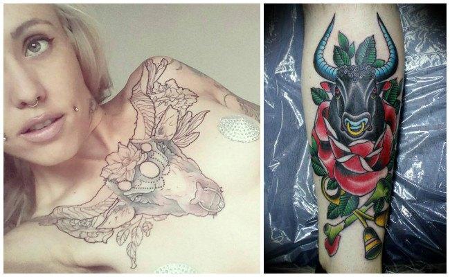 Tatuajes de toros y su significado