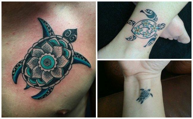 Tatuajes de tortugas de mar