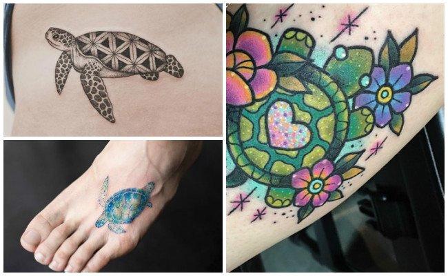 Tatuajes de tortugas de tierra