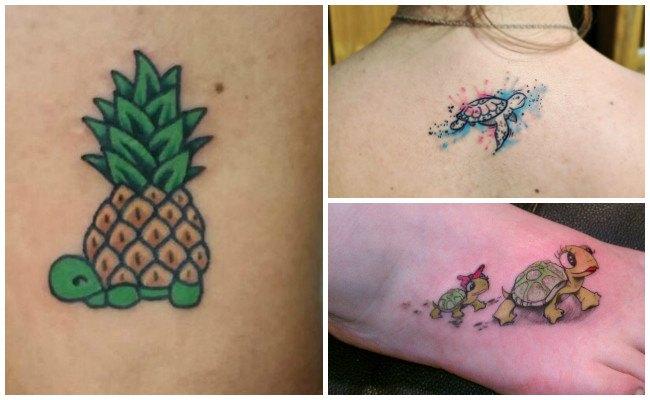 Tatuajes de tortugas y galapagos