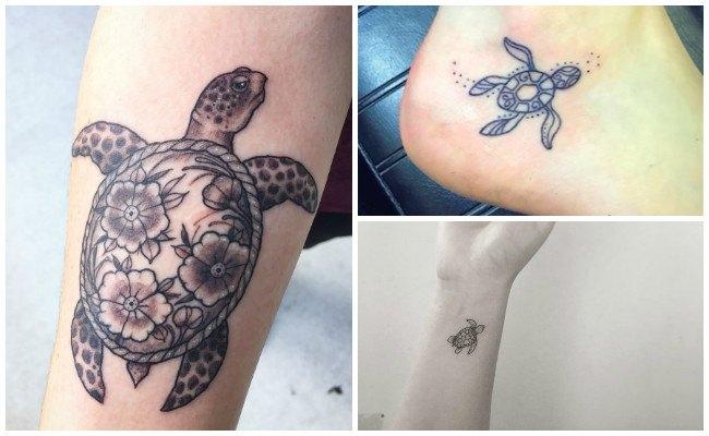 Tatuajes de tortugas para hombres