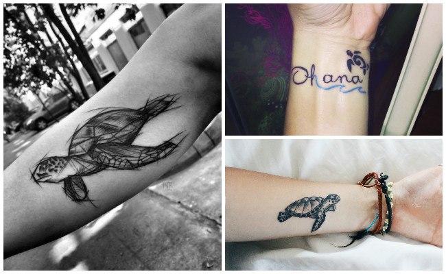 Tatuajes de tortugas mayas
