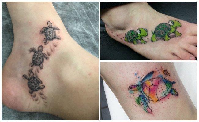 Tatuajes de tortugas y su significado