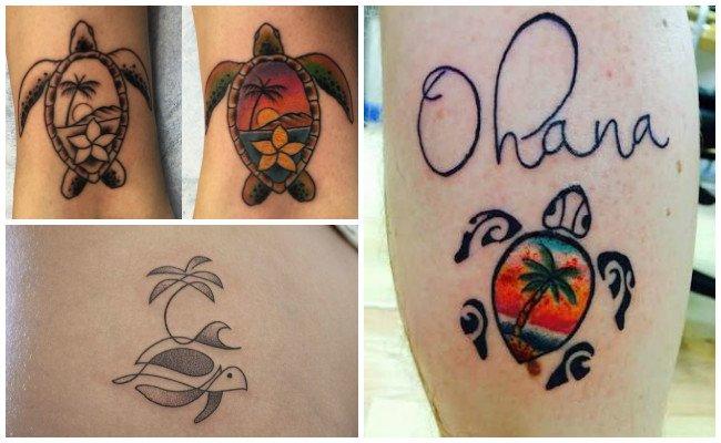 Tatuajes de tortugas terrestres