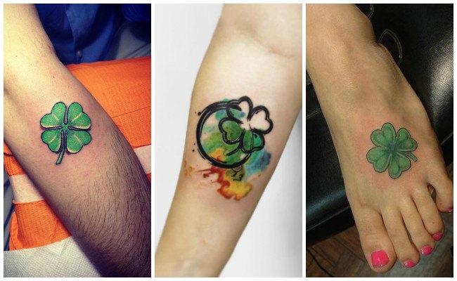 Tatuajes de tréboles 3D