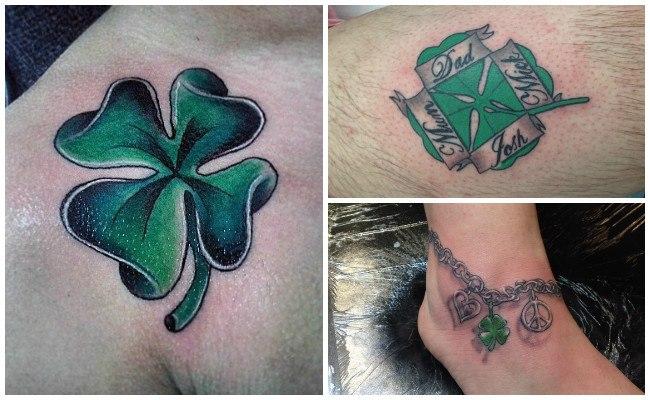 Tatuajes de tréboles con frases