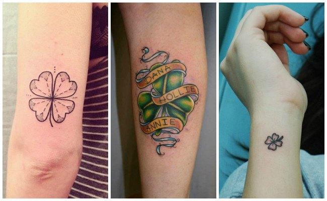 Tatuajes de tréboles para hombres
