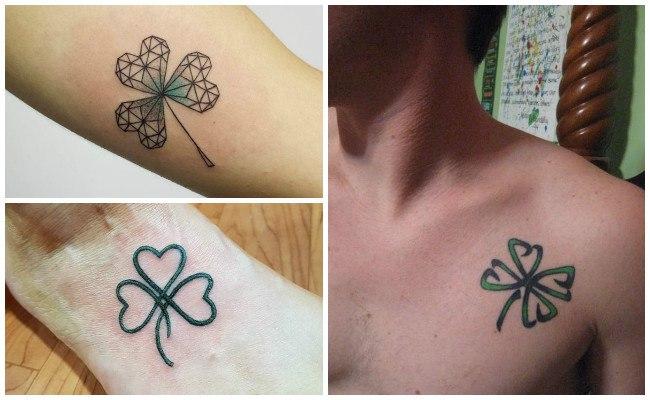 Tatuajes de tréboles para mujeres