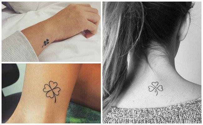 Tatuajes de tréboles pequeños