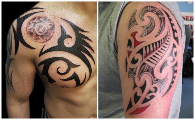 Tatuaje de tribales para hombres