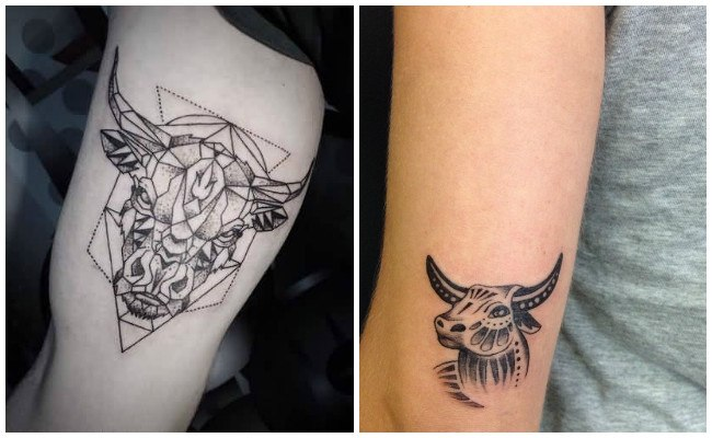 Tatuajes de un toro