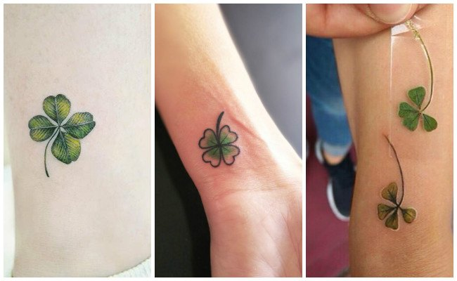 Tatuajes de un trébol