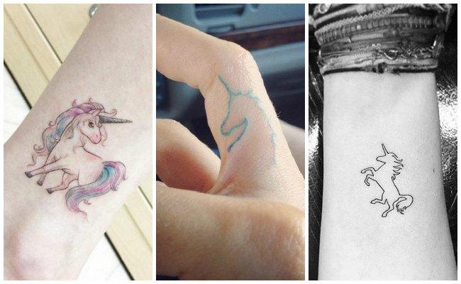 Tatuajes de unicornios y sus diseños