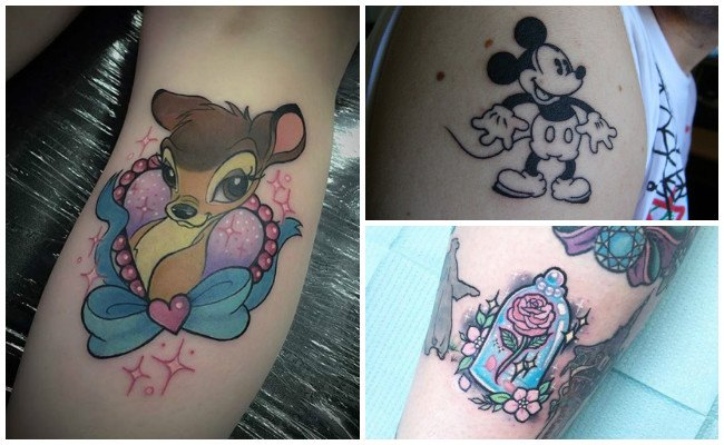Tatuajes de violetta disney