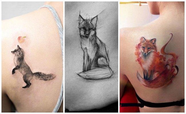 Diseños de tatuajes de zorros