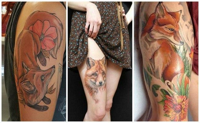Tatuajes de zorros y su significado