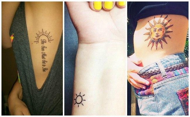 Tatuajes del sol azteca