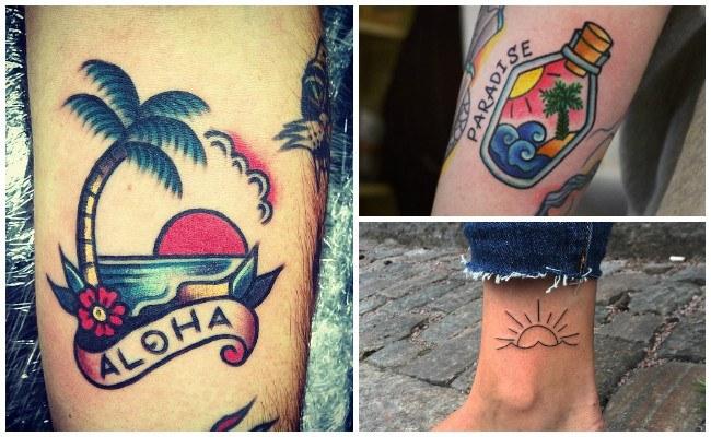 Tatuajes del sol y la luna