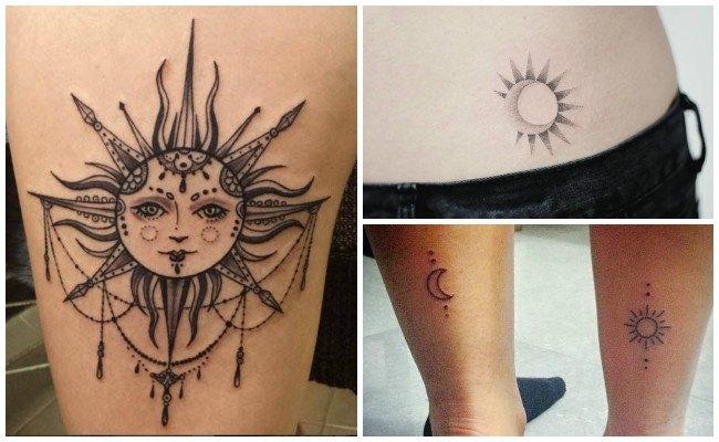 Tatuajes del sol