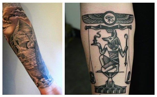 tatuajes dioses egipcios