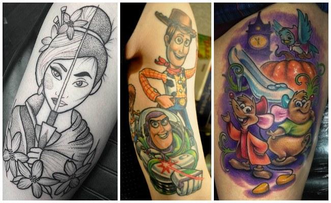 Tatuajes de disney con fotos
