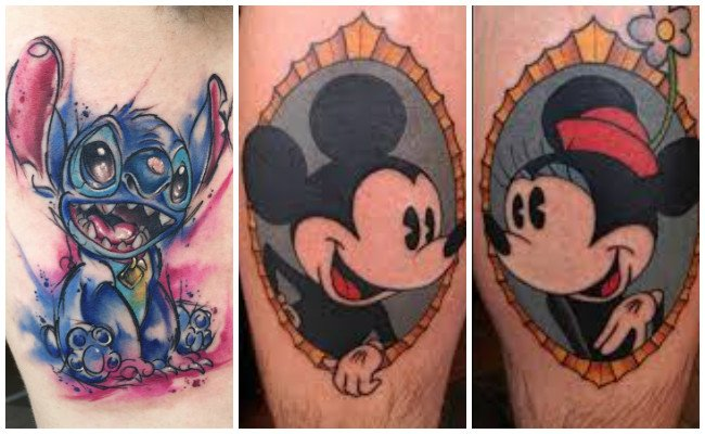 Tatuajes de disney de minnie