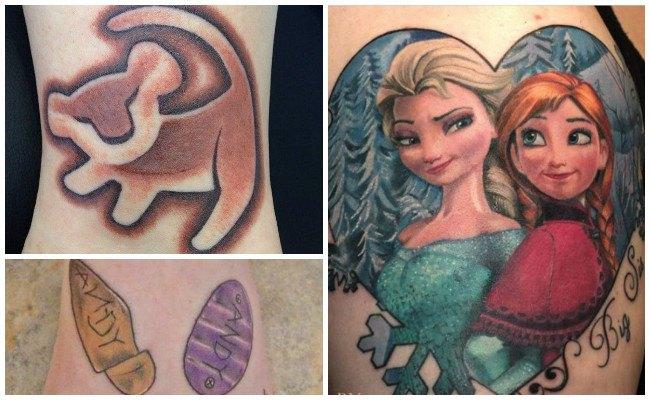 Tatuajes de disney para mujer