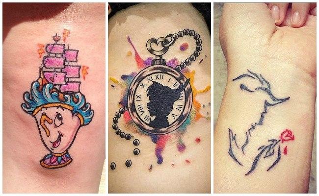 Tatuajes de disney originales