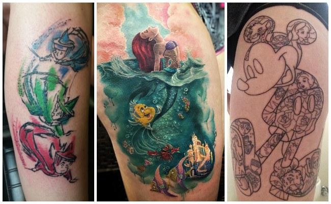 Tatuajes de disney pequeños