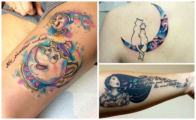 Tatuajes de disney de peter pan