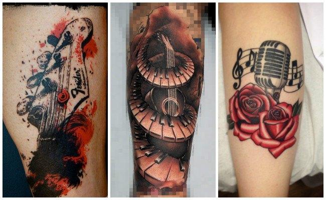 Tatuajes en clave de sol