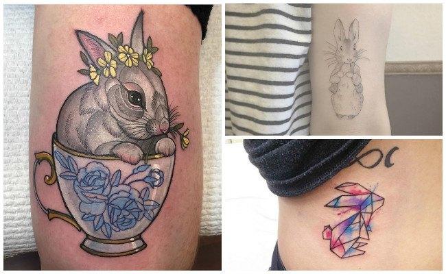 Tatuajes en conejos