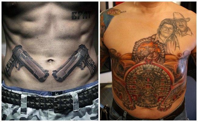 Tatuajes en el abdomen bajo