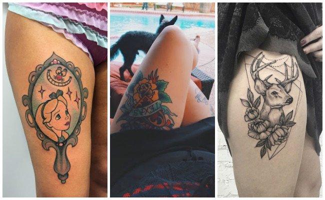 Tatuajes en el gemelo de fútbol
