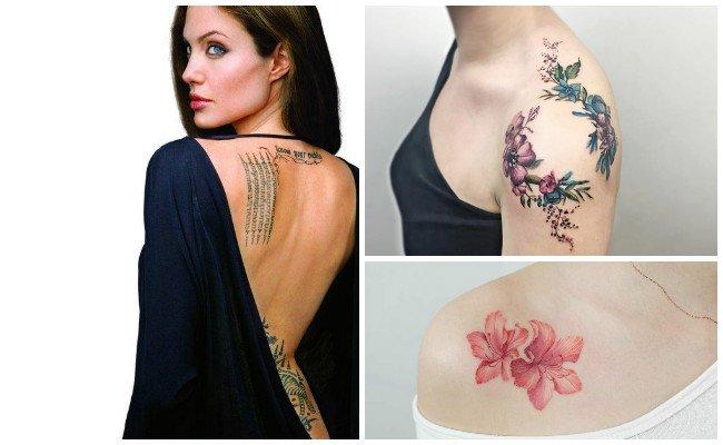 Tatuajes en el hombro de animales