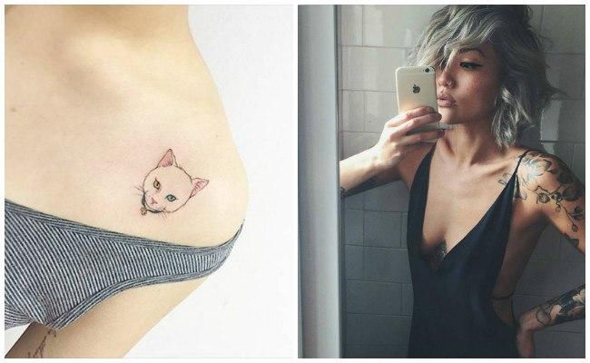 Tatuajes en el hombro y brazo