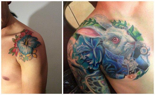 Tatuajes en el hombro para chicas